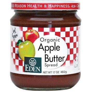 Eden Organic Apple Butter Spread, 17 oz