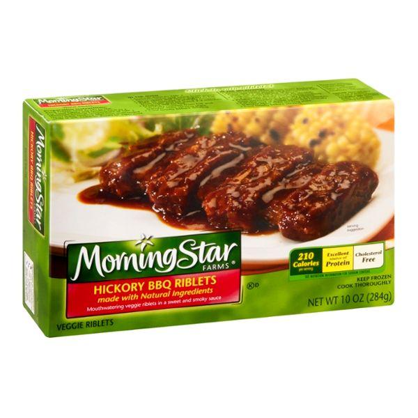 MorningStar Farms Veggie Riblets Hickory BBQ
