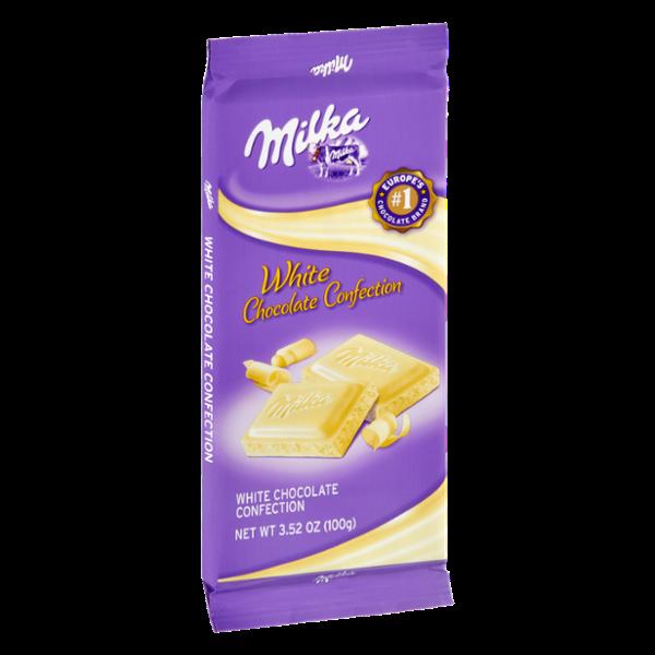 Milka White Chocolate Confection