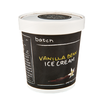 Batch Vanilla Bean Ice Cream