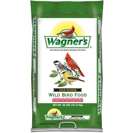 Wagner's Wildlife Food 40 lb. Four Season Wild Bird Food 25016