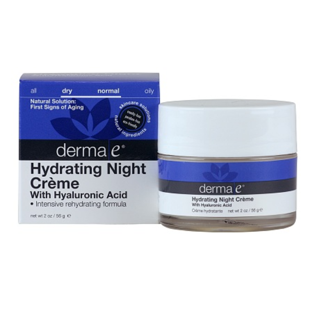 derma e Hyaluronic Acid Night Creme