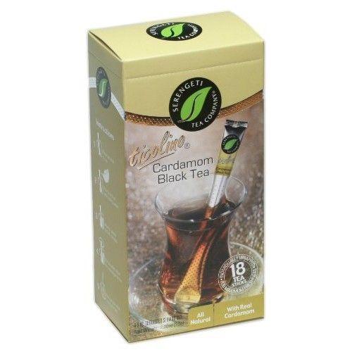 Serengeti Tea Co. Serengeti Tea Cardamom Black Tea Box with 18 Sticks