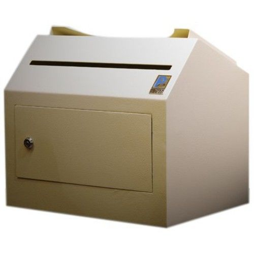 Protex Inter-Office Desktop/ Wall-Mount Locking, Payment Drop Box (SDL-500)