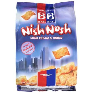 Beigel Beigel Nish Nosh Sour Cream and Onion (12x10.6 Oz)