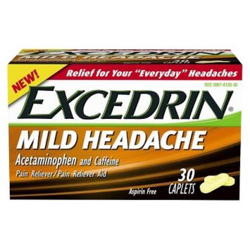 Excedrin Mild Head Ache Reliever Caplets