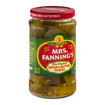 Mrs. Fanning's The Original Bread 'n Butter Pickles