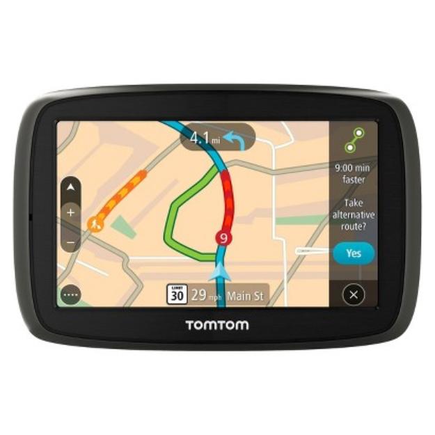 "TomTom GO 60 Portable 6"" Touch Screen GPS Navigator - Black/Gray"