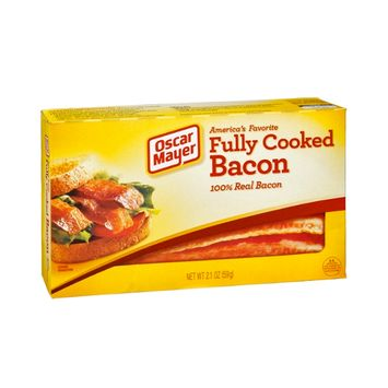 Oscar Mayer 100% Real Fully Cooked Bacon
