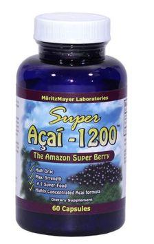 Maritzmayer MartizMayer Super Acai Berry Highly Concentrated 1200 mg 60 Capsules