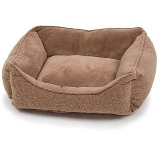 PETCO Brown Puffy Cat Box Bed