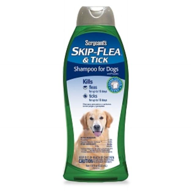 Skip-Flea & Tick Dog Shampoo Clean Cotton