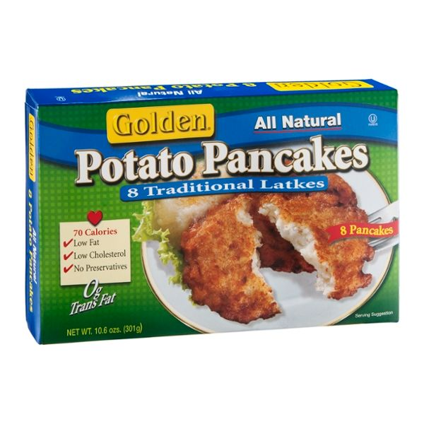 Golden Potato Pancakes - 8 CT