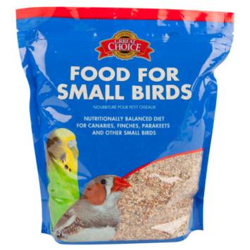 Grreat ChoiceA Small Bird Food