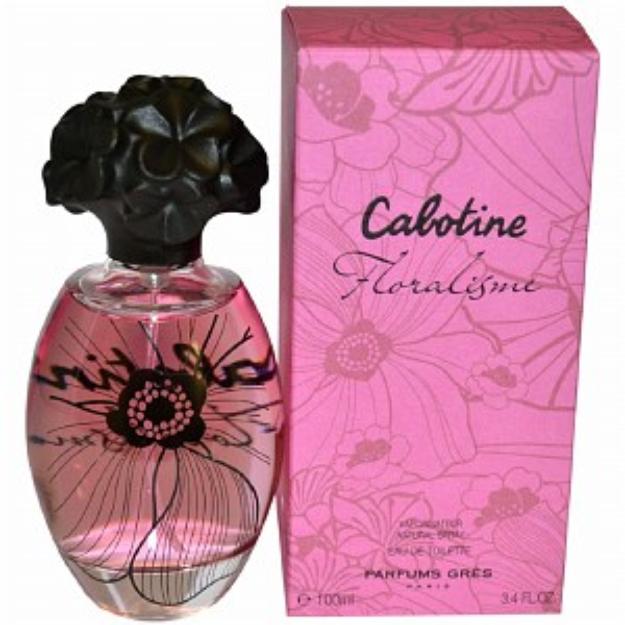 Gres Cabotine Floralisme Eau de Toilette Spray, 3.4 fl oz