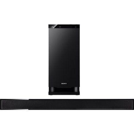 Sony HTCT150 Virtual 5.1 Channel Sound Bar - Black