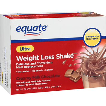 Equate Creamy Milk Chocolate Ultra Weight Loss Shake