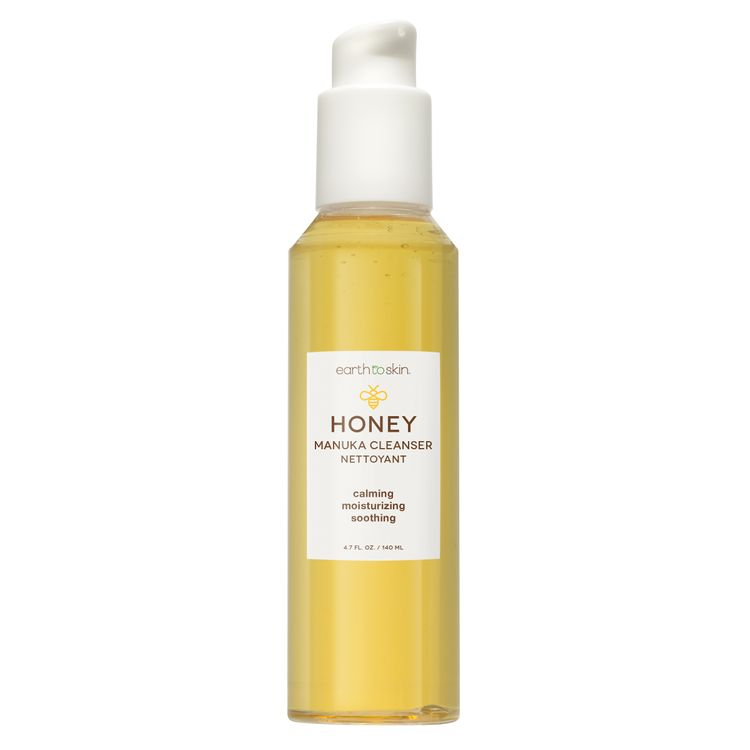 Earth To Skin Honey Manuka Calming Face Cleanser - Fast Free Shipping