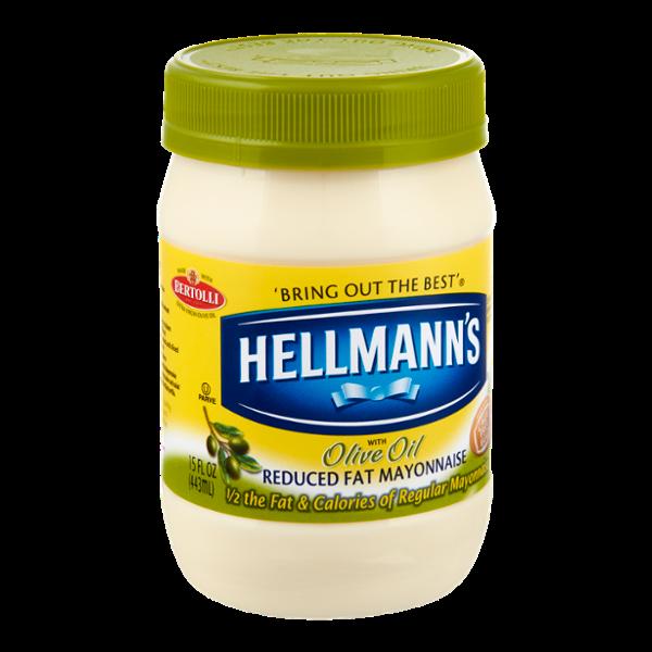 Hellmann's Olive Oil Reduced Fat Mayonnaise