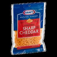 Kraft Sharp Cheddar Cheese Shredded