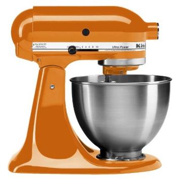 KitchenAid 4.5 qt. Ultra Power Stand Mixer - Tangerine