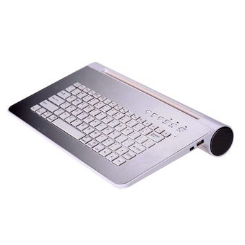Ergoguys 2Cool Foldable Bluetooth Keyboard - Wireless - Bluetooth - Black - 80 Key - Smartphone, Computer, Tablet - On/Off Switch
