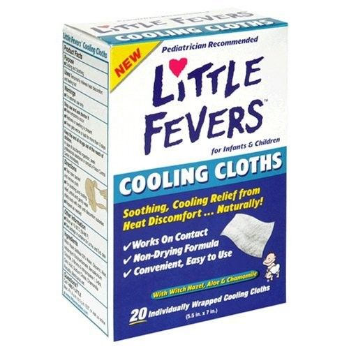 LITTLE REMEDIES® LITTLE FEVERS® COOLING CLOTHS WITH HAZEL ALOE & CHAMOMILE