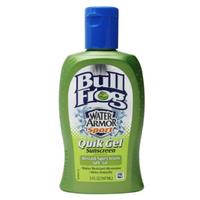 Bull Frog Water Armor Sport Quik Gel Sunscreen, SPF 50, 5 oz