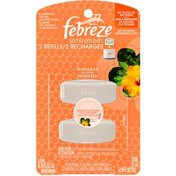 Febreze Set & Refresh Hawaiian Aloha Air Freshener Refill (2 Count