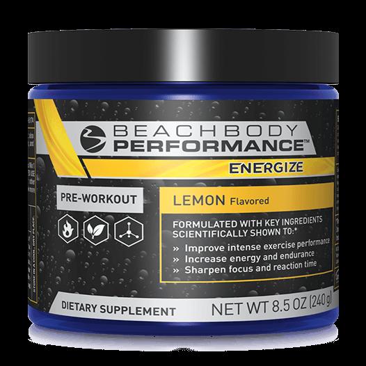 BEACHBODY PERFORMANCE™ ENERGIZE Pre-workout Formula