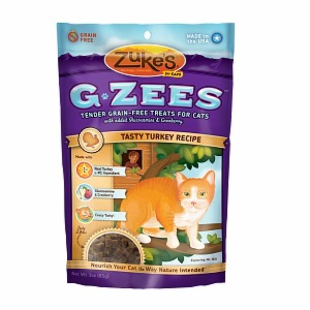Zuke's G-Zees for Cats Tasty Turkey