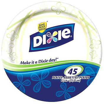 "Dixie Heavy Duty Plate 8 5/8"""
