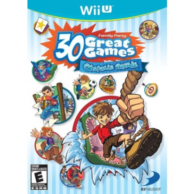 D3 Publisher Family Party 30 Great Games: Obstacle Arcade (Nintendo Wii U)