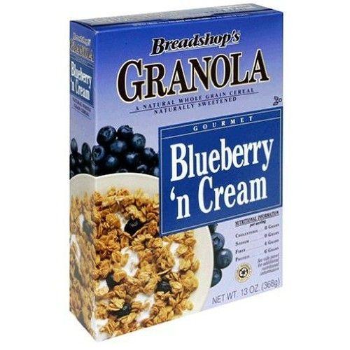 Breadshop Granola Blueberry & Cream Granola (3X13 Oz.)