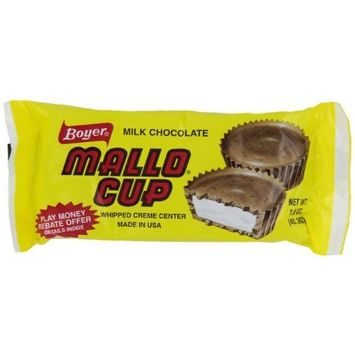 Boyer Candy Company Mallo Cups, 1.6-Ounce Boxes (Pack of 24)