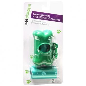 Pet Shoppe   Pet Waste Disposal Bags & Dispenser Set