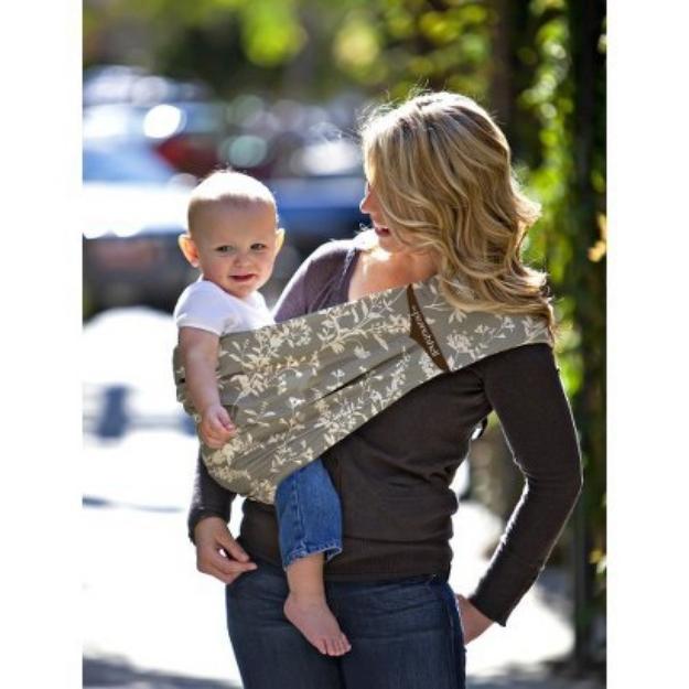 The Peanut Shell Adjustable Sling Baby Carrier - Whisper