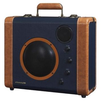 Crosley Radio Sound Bomb Portable Speaker System - Blue/Tan (CR8008A-