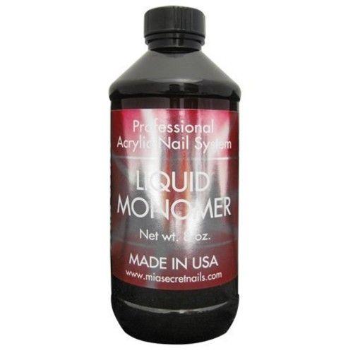Mia Secret Liquid Monomer 8 oz [8oz-240ml]