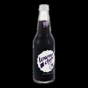 Towne Club Grape Soda