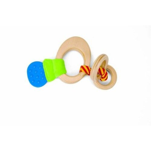 Manhattan Toy Classic and Modern Clicky Clacky Teether