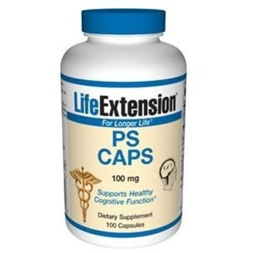 Life Extension PS CAPS 100mg , 100 V Capsules
