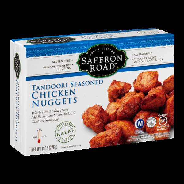 Saffron Road Tandoori Seasoned Chicken Nuggets