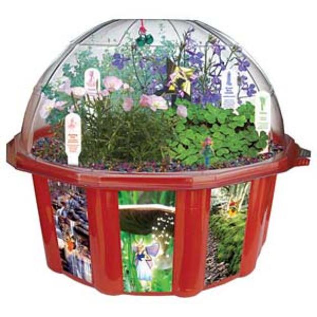 Slide: Dunecraft Fairy Triad Dome Terrarium Ages 4+