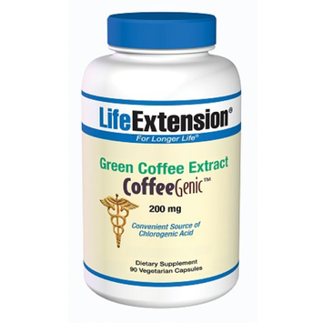 Life Extension Green Coffee Extract 200mg