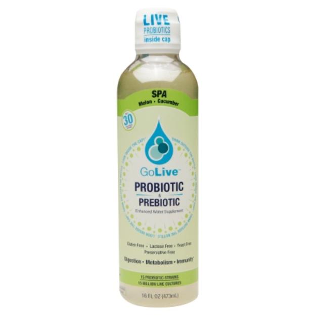 GoLive Probiotic & Prebiotic Drink, Melon Cucumber, 16 fl oz