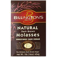 Billington's Unrefined Sugars Billington's Natural Dark Brown Molasses Sugar, 16-Ounce Bags (Pack of 10)