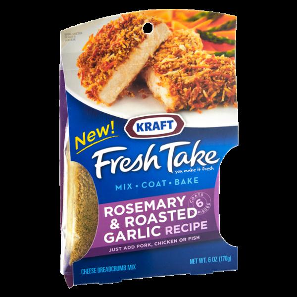 Kraft Fresh Take Rosemary & Roasted Garlic Cheese Breadcrumb Mix
