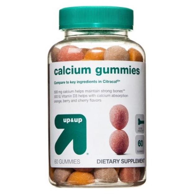 up & up up&up Calcium Gummies - 60 Count