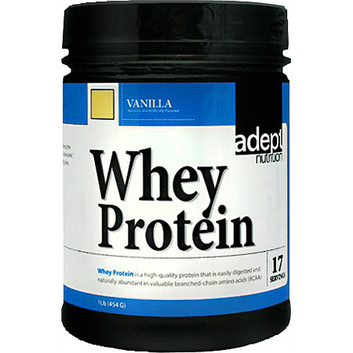 adept nutrition Whey Protein Powder Vanilla